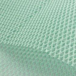 Filet coton bio Vert menthe