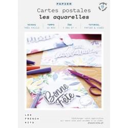 "Kit 3 cartes postales ""les..."